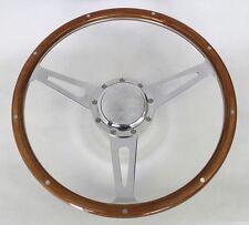 """Fury Scamp Duster Cuda Road Runner GTX 9 hole Steering Wheel Wood 15"""""""