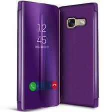Handy Klapp Tasche für Samsung Galaxy A5 2017 Hülle View Flip Case Schutz Cover