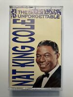 The Unforgettable Nat King Cole Cassette Tape