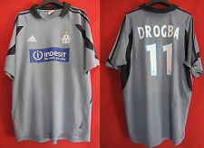 Maillot Olympique Marseille Adidas Drogba Indesit OM Vintage - L