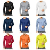 Hanes Cool DRI Performance Men's Long-Sleeve T-Shirt (482L)