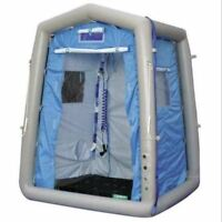 AIR TIGHT WATERPROOF Inflatable Camping Portable Pop Up Shower Bathroom Booth