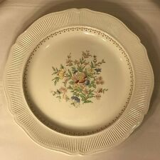 "ROYAL DOULTON THE MEDFORD -D5667 -SERVING PLATTER 12 ½"" FLOWERS RIBBED RIM"