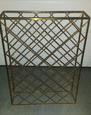 Solid Custom Brass Wine Rack