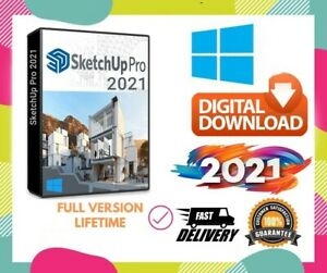 SketchUp Pro 2021 and trimble account to access sketchup 3D warehouse free