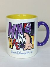 Walt Disney World Minnie Huge Large Coffee Tea Soup Cup Mug
