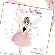 Personalised Birthday Card Sister Friend Niece Grand God Daughter 16th teen