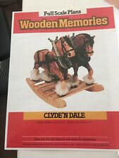 Wooden Memories Full Scale Rocking Horse Plans - Clyde ' N Dale