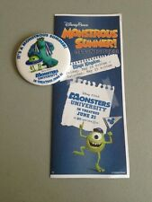 Disney World Times Guide & Button All Nighter May 24, 2013 24 Hour Day Monsters