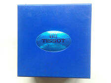 TISSOT WATCH Chronograph 90´S Blue BOX & BOOKLET & WARRANTY Scatola Caja Boîte