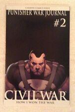 Punisher War Journal #2 Variant Edition Civil War NM+9.6 or Better