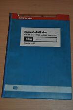 Werkstatthandbuch Reparaturleitfaden AUDI 100 200 ab 1977 bis 1983 Motoren MF