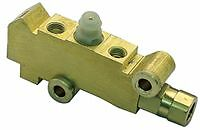 PROPORTIONING VALVE GM STYLE SUIT DISC/DRUM BRAKES - BRASS HOT ROD, FORD, CHEV