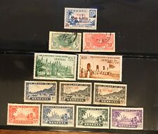 SENEGAL  postage stamps lot of 12 old