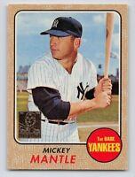 "1996  MICKEY MANTLE - Topps ""REPRINT"" Baseball Card # 18 - NEW YORK YANKEES -SP"