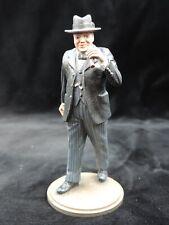 Sir Winston Churchill Metal Cast 90mm Studio Painted Military Figure M22