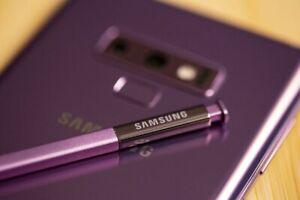 Authentic Samsung Galaxy Note 9 Stylus purple Bluetooth Lavender Purple S-pen