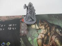 Dark Rituals: Malleus Maleficarum IKREK Witch Miniature Figure & GAME CARD New!!