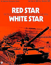 RED STAR WHITE STAR Tactical Combat War Board Game SPI 1972 PUNCHED Flat Tray