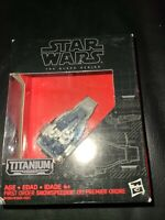 Star Wars The Black Series/Titanium Series #11 Snowspeeder- New in Box