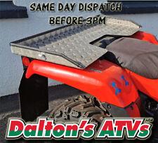 ATV Quad Universal Rear Cargo Alloy Tray, Dog Tray, Alloy checker plate ATV TRAY
