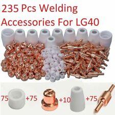 235pcs Pt31 Lg40 Plasma Electrodes Tips Nozzle Consumables Fit Cut40 Cut50 Ct312