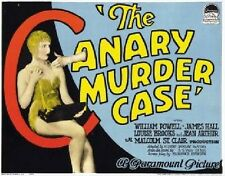 The Canary Murder Case - 1929 - William Powell Louise Brooks - Vintage Crime DVD