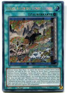Yu-GI-OH Heilige Rollen der Gizmek Legende Secret Rare DAMA-DE060