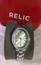 ZR34368 Fossil Relic Silver-Tone Watch