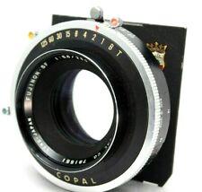 Fuji FUJINON SF 250mm 1:5.6 w/COPAL Shutter for Large Format *Problem* #F021e