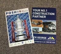 Southend v Cambridge 2020//21 ~ League 2 Programme 21//11//2020 ~ Pre Order