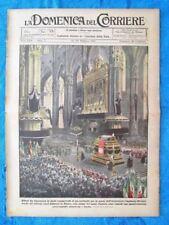 La Domenica del Corriere 20 febbraio 1921 Card.Ferrari - Dublino - Salsomaggiore
