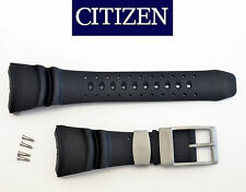 Citizen PROMASTER DIVERS watch band  BLACK rubber strap NH6931-06E NH6934-08FB