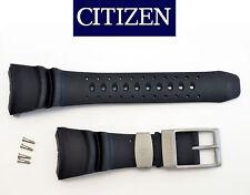 Citizen PROMASTER DIVERS watch band  BLACK rubber strap NH6931-06E NH6934-08FB