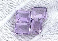 ONE 10x8 10mm x 8mm Emerald Rose De France Amethyst Gem Stone Gemstone EBS3090