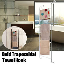 Over the Door Towel Rack Bathroom Rail Hanger Storage Shelf Holder Bath  !! !!