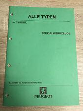 Werkstatthandbuch Peugeot Spezialwerkzeuge 04/99