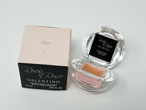 Valentino Rock N Rose Perfume Touch Solid Fragrance .05 oz Damaged (see picture)