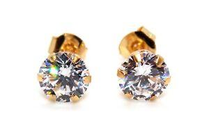 9kt Yellow Gold Diamond 1.31ct Earring Free Gift box