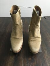 N.D.C. Womens Made by Hand Short Ankle Boots Minimalist Classic Size 36