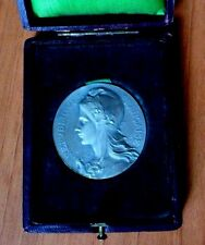 FRANCE 1913 MARIANNE ALLEGORY OF LIBERTY FRENCH BRONZE MEDAL by RASUMNY / N132