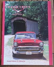 Classic Chevy World OCTOBER 1997 Volume 23 Number 10, 1955 1956 1957 Chevrolet