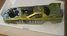 Action NHRA JERRY TOLIVER THE ROCK WWF 1:24 Die-Cast Funny Car ~ 2000 Camaro