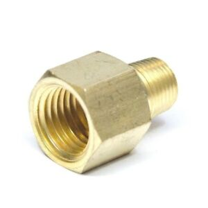 Reducer 1/4 Female Npt to 1/8 Male Npt Pipe Adapter Brass Fitting Water Air Gas