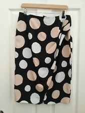 Planet Womens Blak Mix Straight Formal Skirt Size 10 Length 25 Excellent condtio