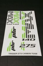 Super Max Sticker Decal Set for Cannondale Lefty PBR TRIGGER 27.5 Carbon Team