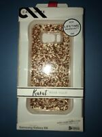 Lot Of 3pc Case-Mate Karat Case for Samsung Galaxy S8 Rose Gold