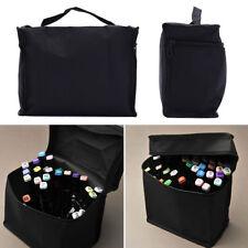 Zipper Folding Art Markers Zipper Canvas Storage Pencil Bag Hold Markers LJ