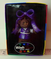 Purple Wish Bear Christmas Ornament 2000 2001