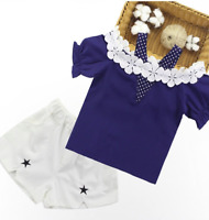 Girls Top and Shorts sets Outfit Kids Summer Set Age 3 4 5 6 7 8 9 10 11 years